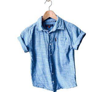 Ben Sherman Blue Button Down Shirt
